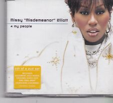 Missy Elliott-4 My People cd maxi single