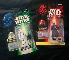 Star Wars Episode 1 Darth Maul and The Power of the Force Stormtrooper Commtech