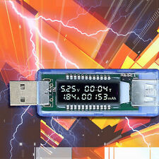 Cool Usb Charger Voltage, Current Capacity Tester Meter Medical Power Of Battery