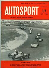 Autosport Le 6th août 1954 * Grand Prix d'Europe & Morgan Plus-quatre TEST *