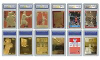 Michael Jordan Mega-Deal Licensed Cards Graded Gem-Mint 10 - SET OF 6 - LOW $$$$
