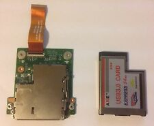 Dell Alienware M15X R2 PCMCIA Port Board + USB 3.0 Express Card 2 Port 0CYFN6