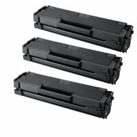 3-Pack/Pk Samsung MLT-D101S Black Toner Cartridge ML-2165W SCX-3405W SF760P