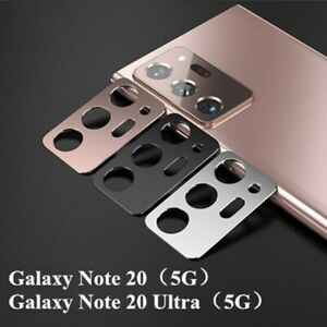 For Samsung Galaxy Note 20 Ultra Metal ring Camera Cover Lens screen protector