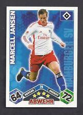 Marcell Jansen Match Attax 2010/11 Topzustand HSV