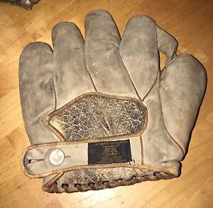 Rare 1920's Draper Maynard Babe Ruth baseball glove
