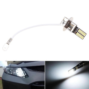 Hot New 6500K 24-SMD HID White H1 LED Replacement Bulbs For Fog Lights Driving L