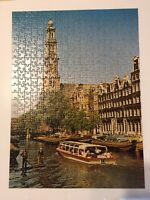 """Vintage Ravenburger Puzzle 500 Piece """"AMSTERDAM""""  **COMPLETE** 1970"""