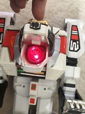Power Rangers White Tiger Zord Megazord With Working Light Bandai 1994 BN1