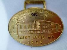 Antique Vintage Pocket Watch FOB 1958 Carpenter Hall St Saint Louis Mo