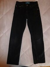 LEE Boy's Black Jeans Size 12 Years Adjustable Waist