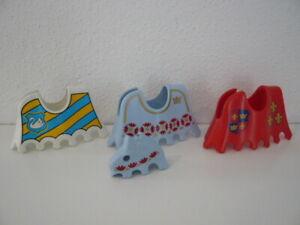 Playmobil Schabracken Kopfteile Ritter Turnier Pferde 3652 3654 3024 3837