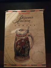 Budweiser Anheuser Busch Beer Stein Discover America series NINA 1989