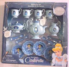 Vintage Disney Retro Talking Tea Set Disney Cinderella Serves 4 (Read)