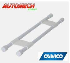 "Camco Caravan and Motorhome Cupboard/Fridge Double Retaining Bars (10"" to 17"")"