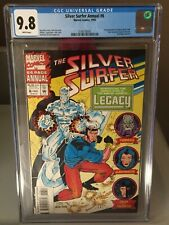 Silver Surfer Annual 6 CGC 9.8 RARE!! Buy Now RARE!! WHITE PAGES...Buy Now