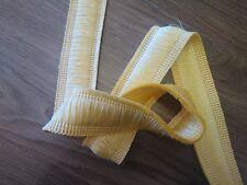 Fringe-Garniture pour les bords de coussins etc 38 mm, jaune clair (2 Mètre)