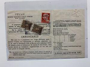 AMG VG - Trieste - Recapito Autorizzato Tariffa 1 Lire Su Documento TELVE