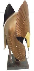 SCA LARP Medieval Lord Of The Ring Helmet /LOTR With liner free helmet stand