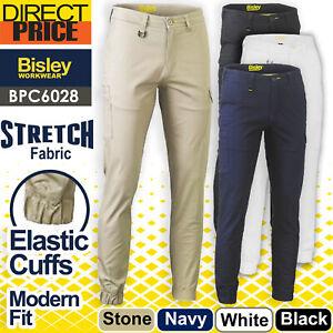Bisley Stretch Cotton Drill Cargo Cuffed Pants BPC6028