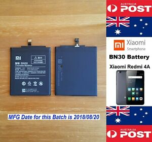 GENUINE Xiaomi Redmi 4A Battery BN30 3120mAh Good Quality - Local Seller