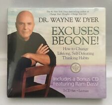 Dr. Wayne W Dyer Excuses Begone 7 CD Set Lecture NEW SEALED