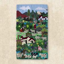 """Wall Hanging Quilt 17.7"""" tall- Arpillera art work tapestrie 3D - peruvian textil"""