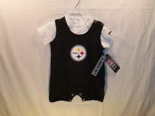 Pittsburgh Steelers NFL Romper & Bodysuit (2 Piece) RBK Infant 6/9 Mo.