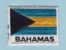SCOUT OF WEST INDIES - BAHAMAS SCOUTS NATIONAL FLAG EMBLEM Patch