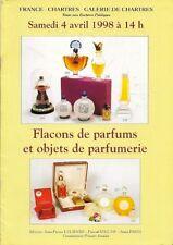CHARTRES SCENT PERFUME BOTTLE Baccarat Guerlain Lalique Piver Ricci Catalog 98