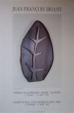 JEAN-FRANCOIS BRIANT--1993 Original  French Poster--GALERIE DI MEO--PARIS