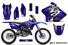SUZUKI RM 125 250 Graphics Kit 2001-2009 CREATORX DECALS BTBLNP