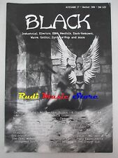 BLACK MAGAZINE 17/1999 Sol Invictus Sally Doherty Skrol Penitent 12 Rounds No*cd