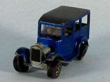 MATTEL HOT WHEELS Classic '31 Ford Woody (Blue) 1/64 Scale Diecast Model RARE!