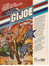 GI Joe 1985 Ad- The Most Exciting Animated Series Ever!/A Real American Hero