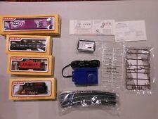 Good & Plenty Train Set, 4 Cars and Track, BRAND NEW Life Like HO  Promotional
