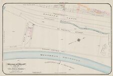 1913, CHARLES E. GOAD, MONTREAL, CANADA, IMPERIAL OIL COMPANY, COPY ATLAS MAP