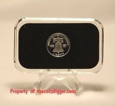 1 AIR-TITE Direct Fit Capsule Holder for 1 GRAM Silver Bar Acrylic Case Airtite