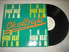 """The High Beat Team-OK allright 12"""" vinyl MAXI"""