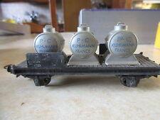 "Hornby Wagon Plat "" Kulmann France "" à  à essieux"