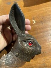 Antique Metal Rabbit Head Hare Bargain