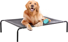 Western Home Outdoor Elevated Dog Bed, Raised Dog Cot Bed for Extra Large