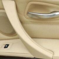 Beige Lado Derecho Panel de Puerta Tirador Embellecedores para BMW E90 E91 318