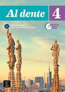 Al dente: Libro dello studente + Esercizi + CD + DVD 4 (IT... by Licastro, Giada