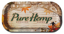 """Pure Hemp X-Small 4"""" x 8"""" Cigarette Roll-Your-Own Rolling Paper Tray - 952"""