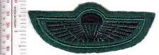 Royal Navy RN Commando Special Boat Service SBS Parachutist Badge Royal Marines