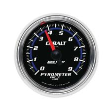 "Auto Meter Boost/Pyrometer Gauge 6144-M; Cobalt 0 to 900°C 2-1/16"" Electrical"