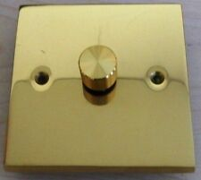 Polished Brass Dimmer Switche Home Electrical Fittings