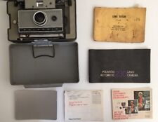 Vintage Polaroid Automatic  230  Land Camera Super Shooter with hard caryingcase