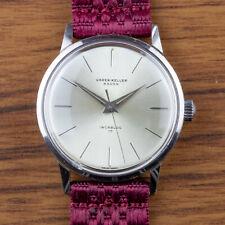 Vintage UHREN KELLER / HENO Swiss made dress watch - 1960s - Unitas 6300